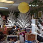 Vintage Christmas, aluminum trees