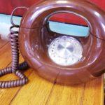 1970's donut phone